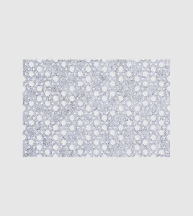 ReFelt PET Felt Acoustic Patterned Tileable Panel Dots Marble