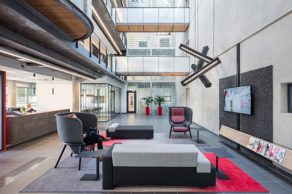 entrance hall of UL International office in Arnhem