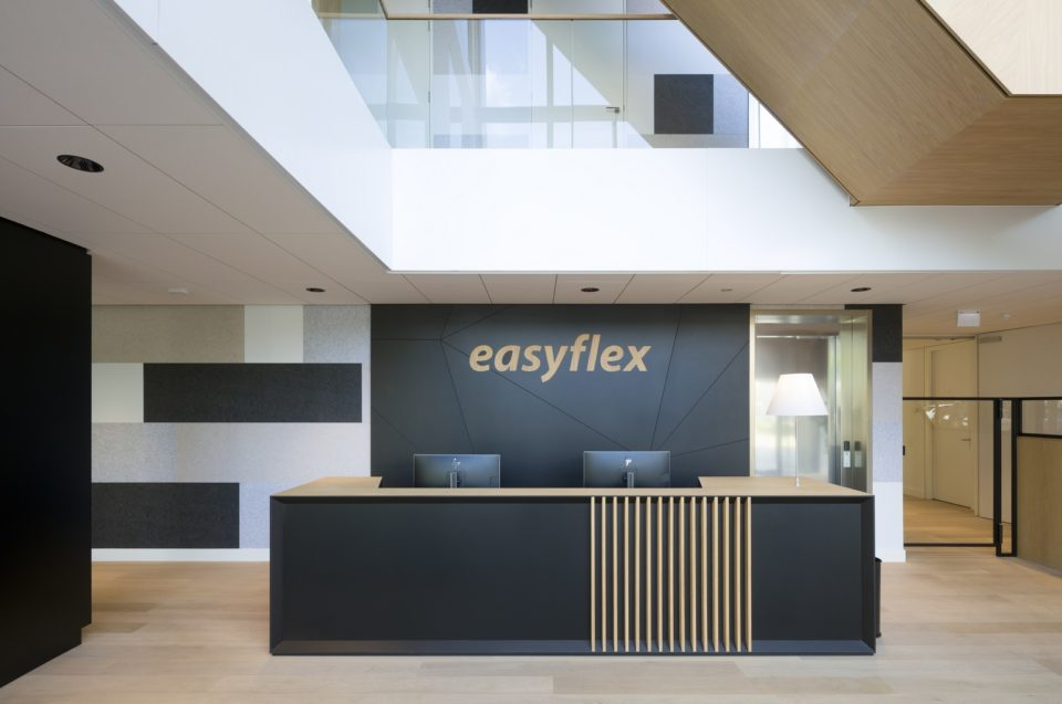 Easyflex office design with PET Felt panels