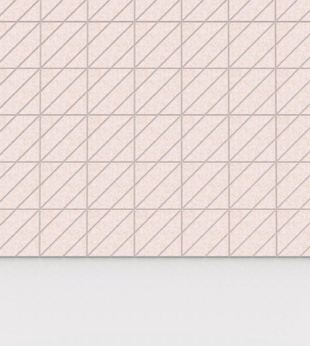 refelt-pet-felt-acoustic-tile-diagonal-small-20x20-Beige