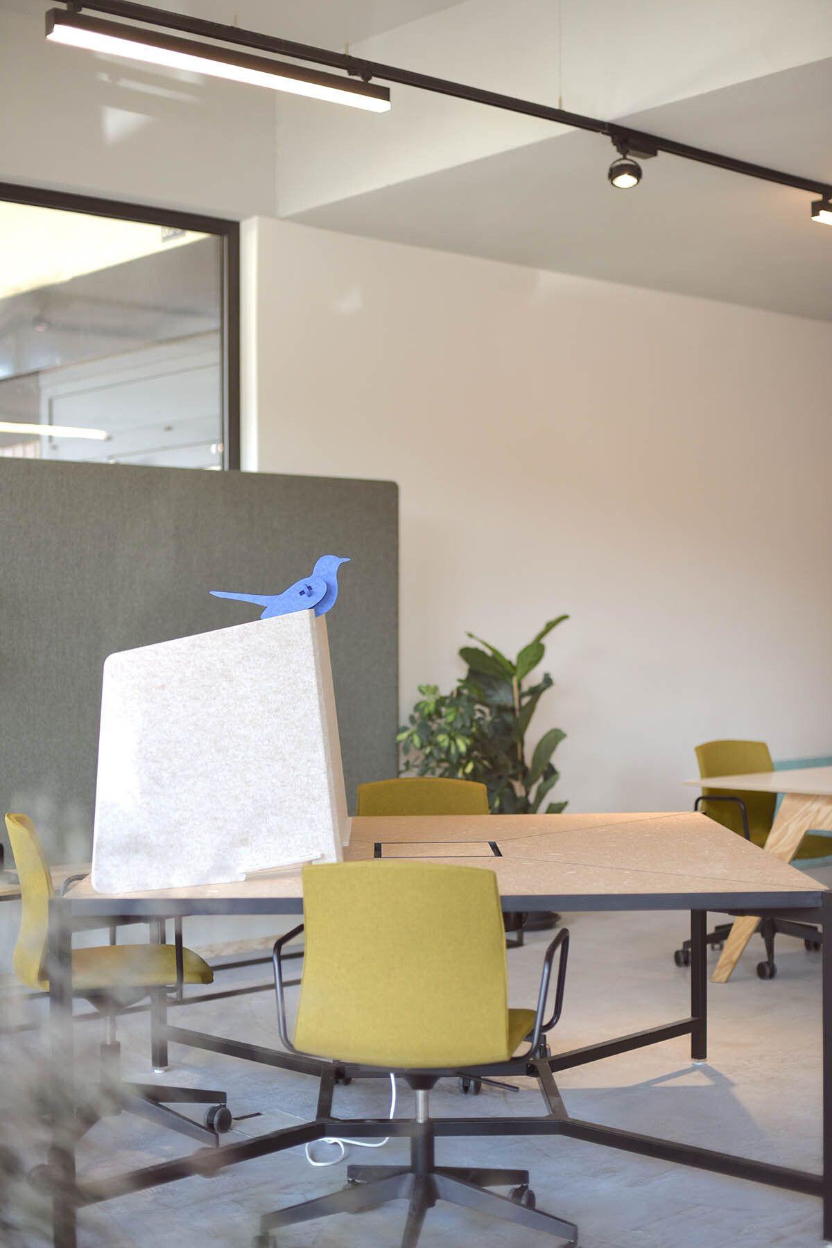 ReFelt PET Felt Workplace Divider Cospire Lausanne LR 2